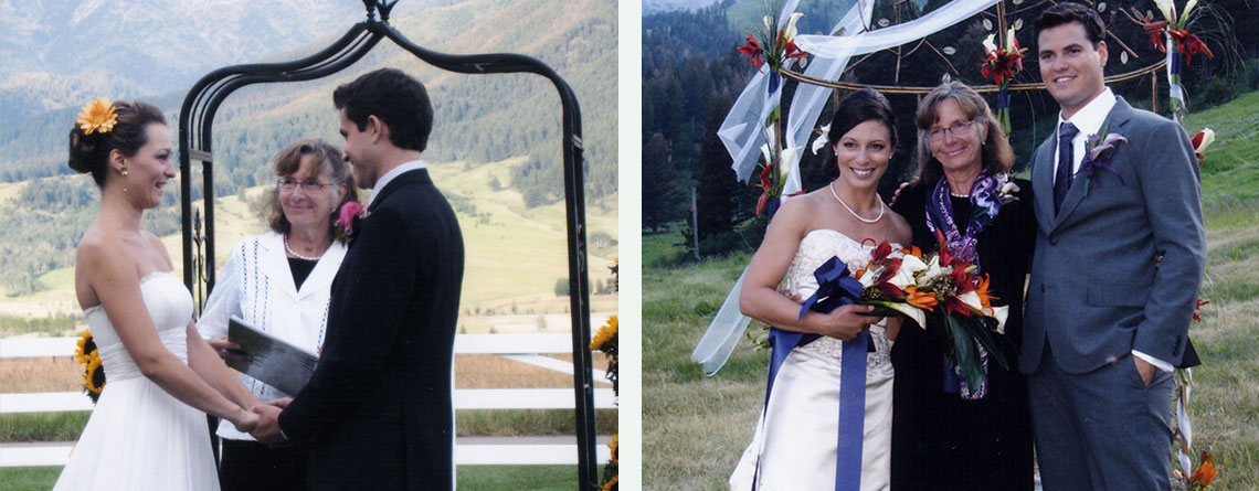 Bozeman Montana Wedding Officiants